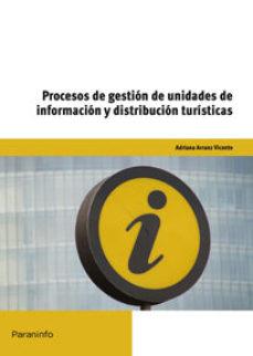 Portada de Procesos De Gestion De Unidades De Informacion Y Distribucion Tur Isticas