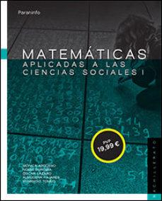 Portada de Matematicas Aplicadas A Las Ciencias Sociales I. 1º Bachillerato