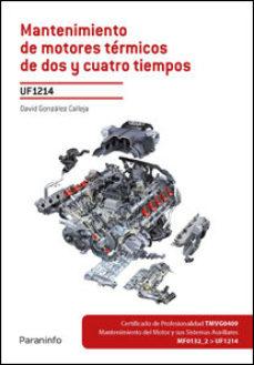 Portada de Mantenimiento De Motores Termicos De Dos Y Cuatro Tiempos Uf1214