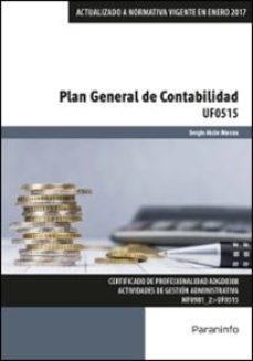 Portada de Uf0515 – Plan General De Contabilidad