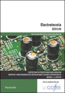 Portada de Electrotecnia Uf0149