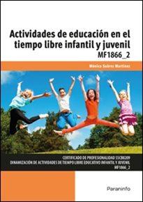 Portada de Mf1866_2 – Actividades De Educacion En El Tiempo Libre Infantil Y Juvenil