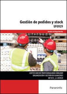 Portada de Uf0929 – Gestion De Pedidos Y Stock