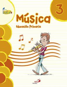 Portada de Musica 3º Educacion  Primaria Libro Del Alumno  Proyecto Pizzicato