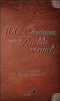 Portada de 100 Oraciones Contra El Diablo Y El Mal