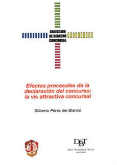 Portada de Efectos Procesales De La Declaracion Del Concurso: La Vis Attract Iva Concursal