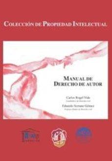 Portada de Manual De Derecho De Autor.