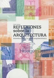 Portada de Reflexiones Sobre La Arquitectura