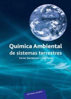 Portada de Quimica Ambiental De Sistemas Terrestres