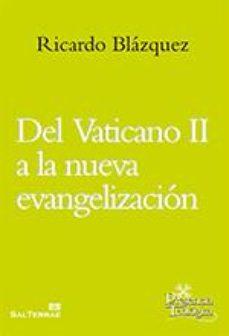 Portada de Del Vaticano Ii A La Nueva Evangelizacion