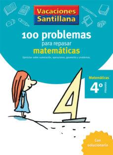 Portada de 4 Vacaciones Matematicas (educacion Primaria)