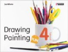 Portada de Drawing & Painting Fun Sb+cd 4º Primaria (08)