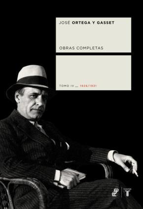 Portada de Obras Completas: Tomo Iv (1926-1931)