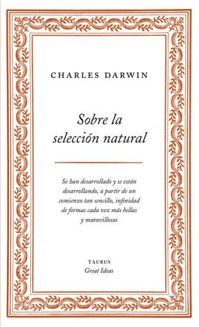 Portada de Sobre La Seleccion Natural (great Ideas)