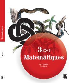 Portada de Matematiques 3º Eso Catala Ed 2015
