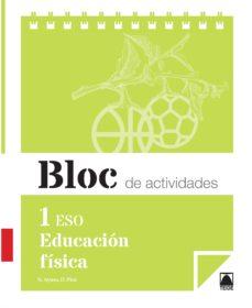 Portada de Bloc Educacion Fisica 1º Eso Cuaderno