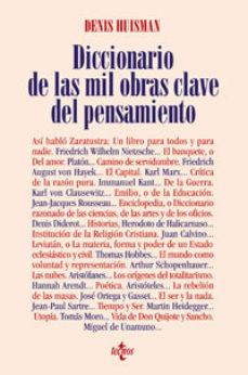 Portada de Diccionario De Las Mil Obras Clave Del Pensamiento (2ª Ed.)