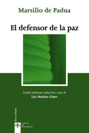 Portada de El Defensor De La Paz (2ª Ed.)
