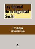 Portada de Ley General De La Seguridad Social (12ª Ed.)