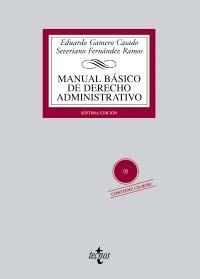 Portada de Manual Basico De Derecho Administrativo (incluye Cd) (7ª Ed.)