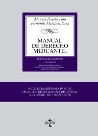 Portada de Manual De Derecho Mercantil Vol. Ii. Contratos Mercantiles. Derec Ho De Los Titulos Valores. Derecho Concursal (18ª Ed.)