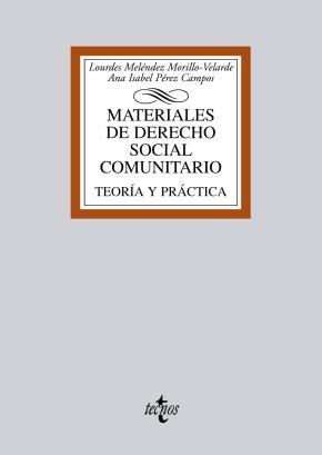 Portada de Materiales De Derecho Social Comunitario