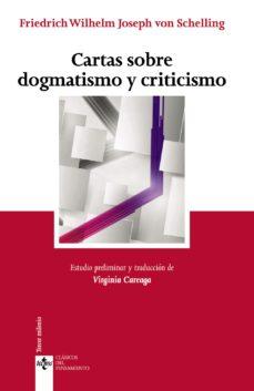 Portada de Cartas Sobre Dogmatismo Y Criticismo