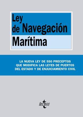 Portada de Ley De Navegacion Maritima
