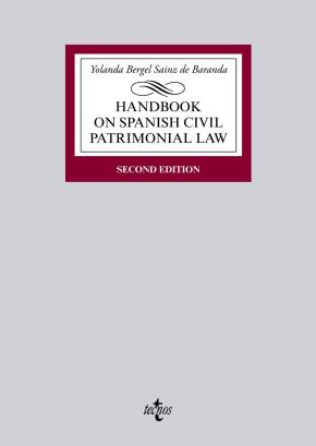 Portada de Handbook On Spanish Civil Patrimonial Law (2ª Ed.)