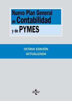 Portada de Nuevo Plan General De Contabilidad Y De Pymes (8ª Ed.): Reales Decretos 1.514/2007 Y 1.515/2007, De 16 De Noviembre