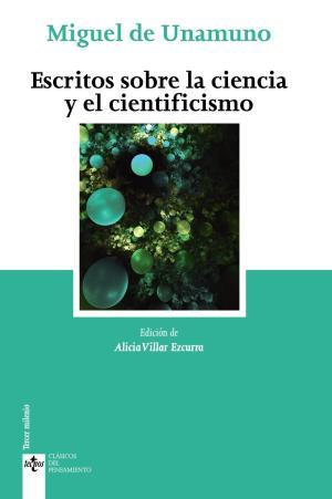 Portada de Escritos Sobre La Ciencia Y El Cientificismo