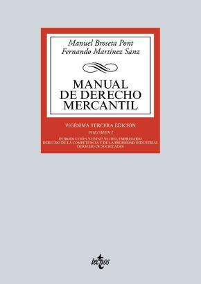 Portada de Manual De Derecho Mercantil (13ª Ed.)