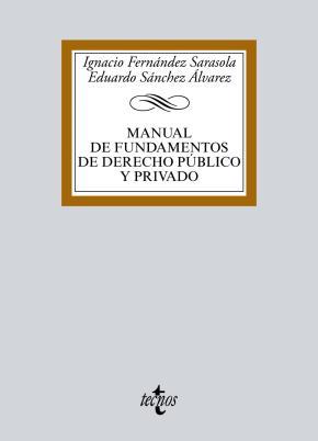 Portada de Manual De Fundamentos De Derecho Publico Y Privado