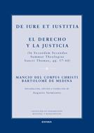 Portada de De Iure Et Iustitia. El Derecho Y La Justicia