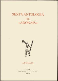 "Portada de Sexta Antologia De ""adonis"""