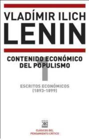 Portada de Escritos Economicos (1893-1899) 1: Contenido Economico Del Populismo