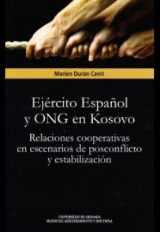 Portada de Ejercito Español Y Ong En Kosovo