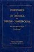 Portada de Comentarios A La Ley Organica Del Tribunal Constitucional