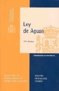 Portada de Ley De Aguas (12ª Ed.)