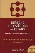 Portada de Derecho Eclesiastico Del Estado (5ª Ed.)