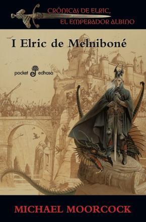 Portada de Elric De Melnibone (saga Elric De Melnibone 1)