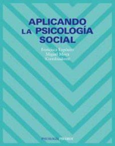 Portada de Aplicando La Psicologia Social