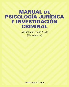 Portada de Manual De Psicologia Juridica E Investigacion Criminal