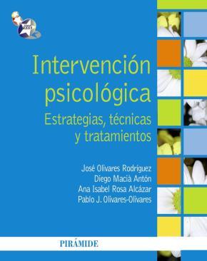 Portada de Intervencion Psicologica: Estrategias, Tecnicas Y Tratamientos