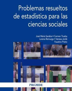 Portada de Problemas Resueltos De Estadistica Para Las Ciencias Sociales
