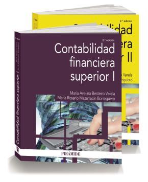 Portada de Pack- Contabilidad Financiera Superior (2ª Ed)
