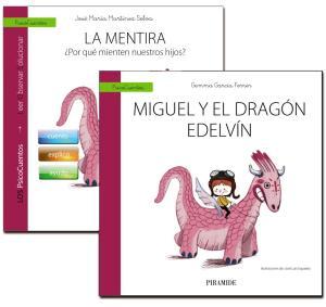 Portada de Guia: La Mentira + Cuento: Miguel Y El Dragon Edelvin