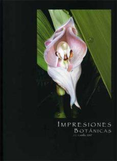 Portada de Impresiones Botanicas