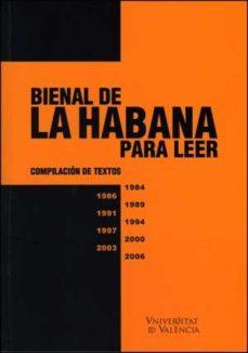 Portada de Bienal De La Habana Para Leer