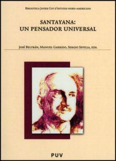 Portada de Santayana: Un Pensador Universal